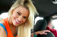Watch revenge porn with amazing blondy explored in the car. Her body is really hot, dude do seem to get enough of her.