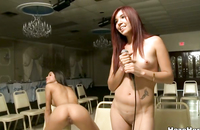 Watch kinky young lesbians fucking to shows their dominating hot girlfriends how good they are at eating out pussies.