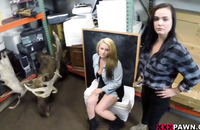 Hidden cameras film who young college girl agree to engage in hot orgy to get some money.